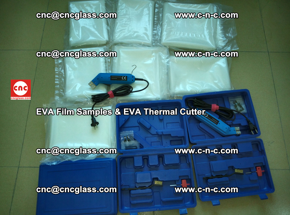 EVAFORCE SUPER CLEAR EVA Film Samples and EVA Thermal Cutter (18)
