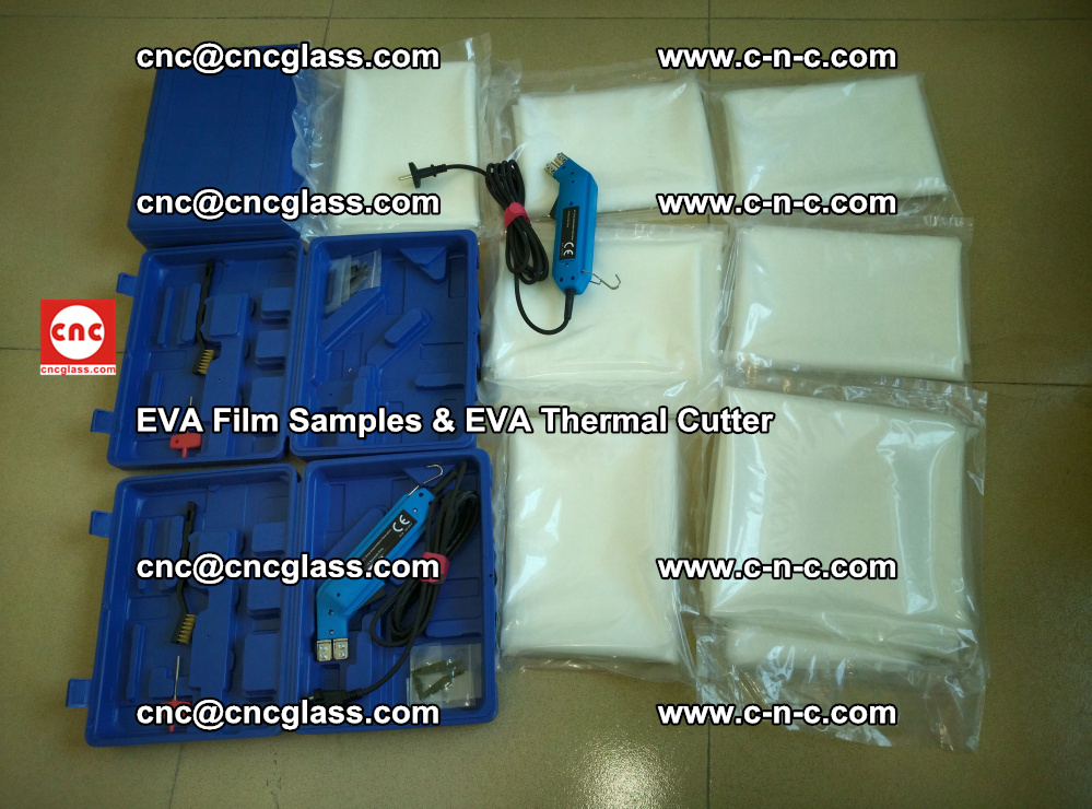EVAFORCE SUPER CLEAR EVA Film Samples and EVA Thermal Cutter (29)