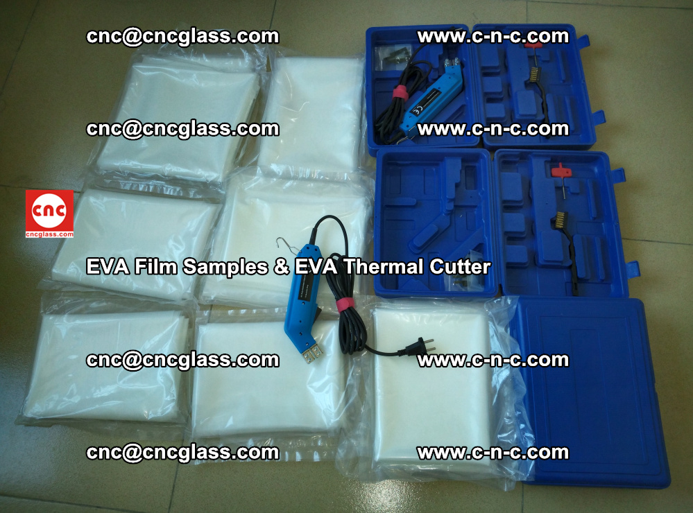 EVAFORCE SUPER CLEAR EVA Film Samples and EVA Thermal Cutter (35)