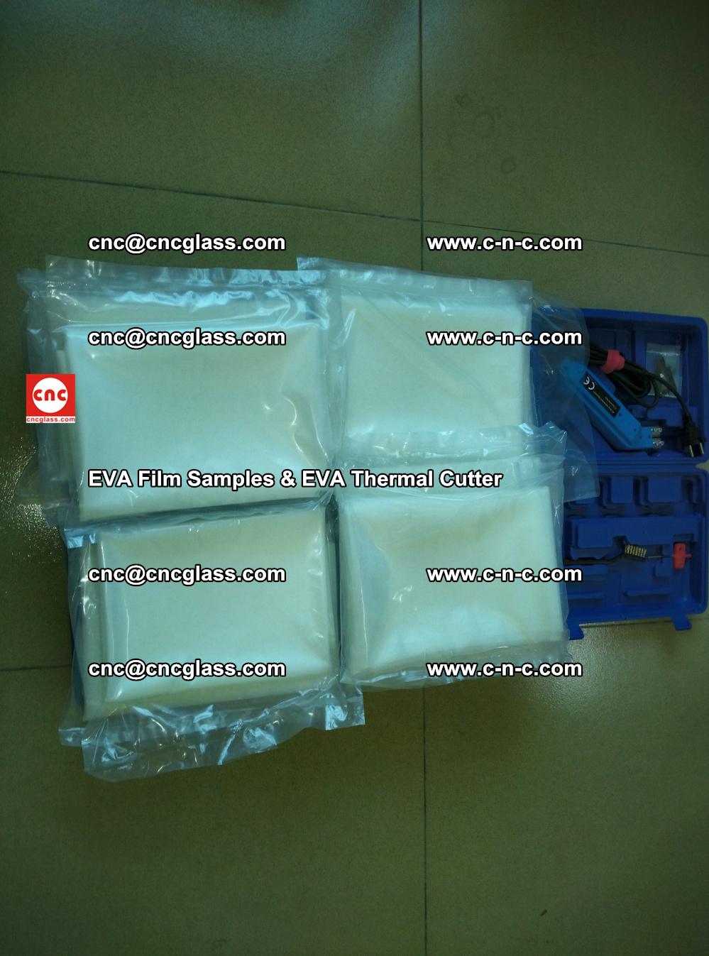 EVAFORCE SUPER CLEAR EVA Film Samples and EVA Thermal Cutter (43)