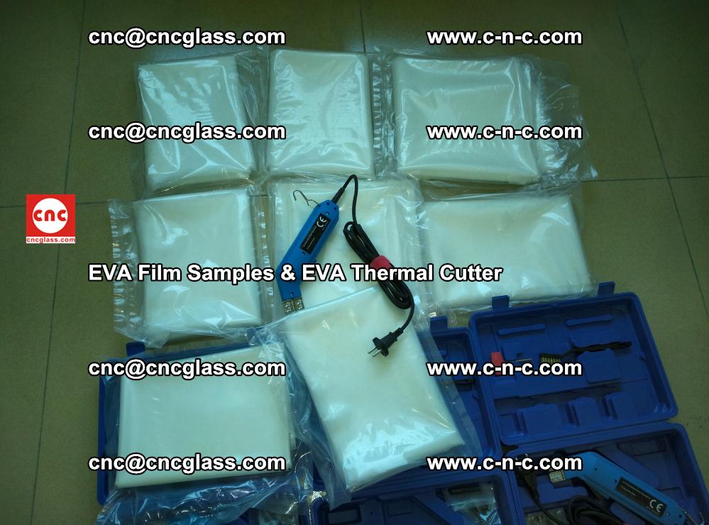 EVAFORCE SUPER CLEAR EVA Film Samples and EVA Thermal Cutter (8)