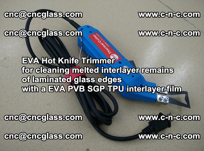 EVA Hot Knife Trimmer for cleaning interlayer remains of solar panel modules (13)