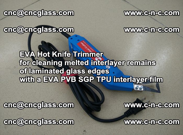 EVA Hot Knife Trimmer for cleaning interlayer remains of solar panel modules (31)