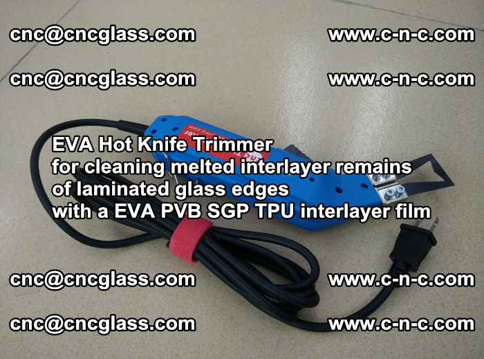 EVA Hot Knife Trimmer for cleaning interlayer remains of solar panel modules (5)