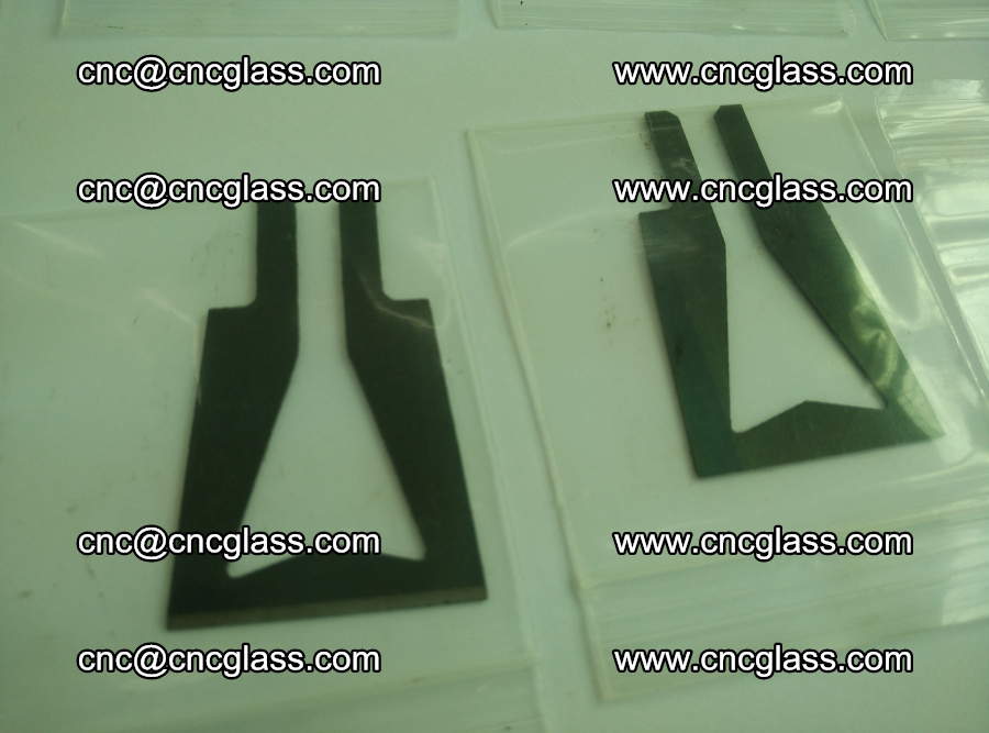 Blades for Thermal cutter trimming laminated glass edges overflowed remains (12)