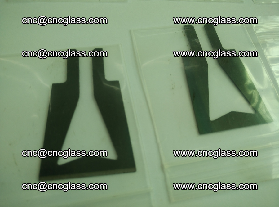 Blades for Thermal cutter trimming laminated glass edges overflowed remains (13)