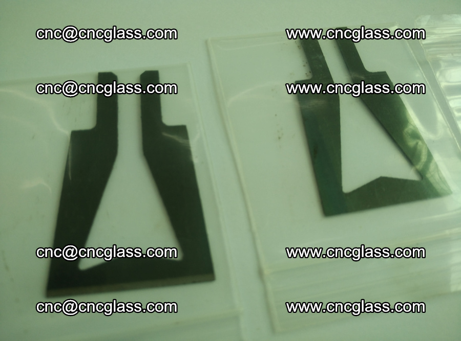 Blades for Thermal cutter trimming laminated glass edges overflowed remains (14)