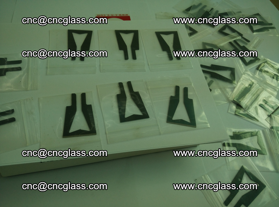 Blades for Thermal cutter trimming laminated glass edges overflowed remains (15)