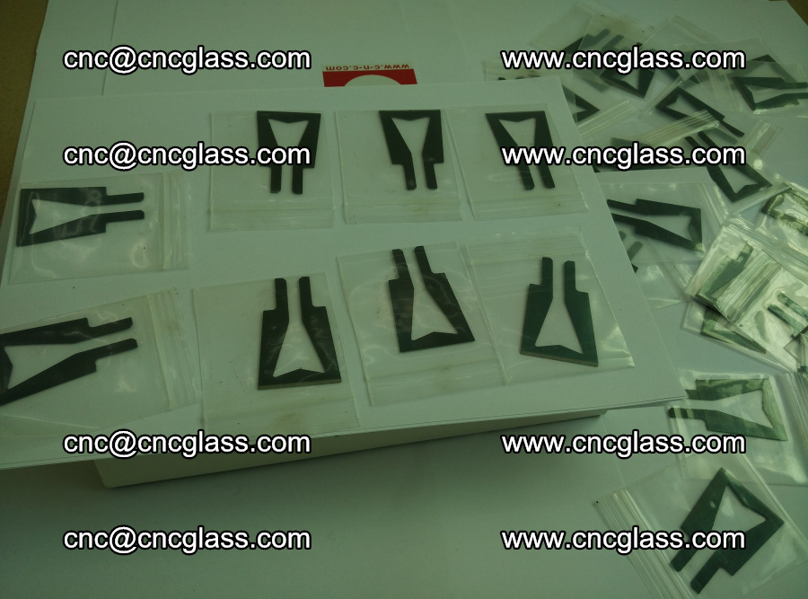 Blades for Thermal cutter trimming laminated glass edges overflowed remains (16)