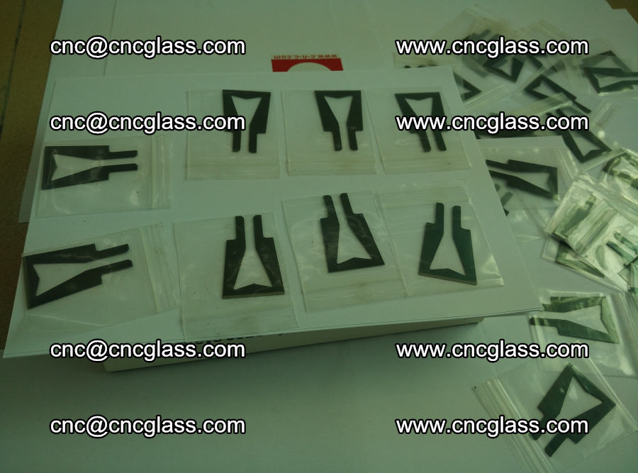 Blades for Thermal cutter trimming laminated glass edges overflowed remains (17)