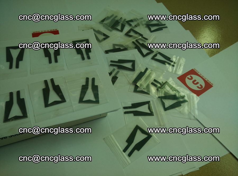 Blades for Thermal cutter trimming laminated glass edges overflowed remains (19)