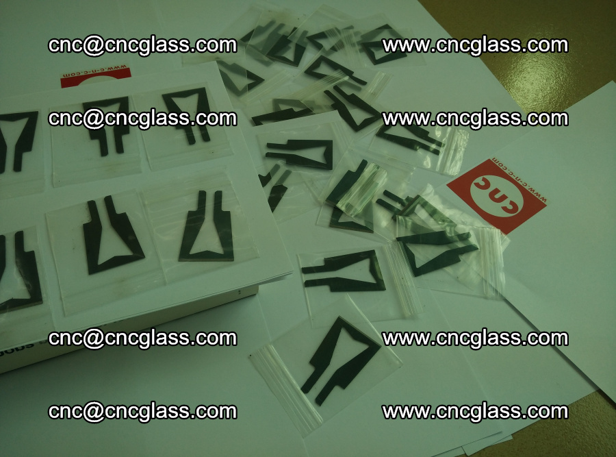 Blades for Thermal cutter trimming laminated glass edges overflowed remains (20)