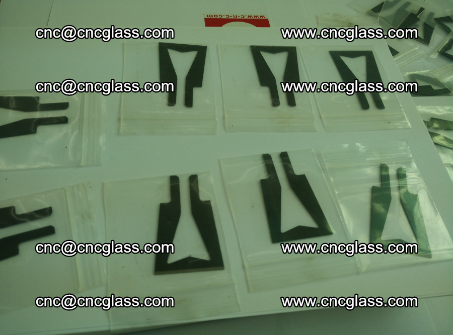 Blades for Thermal cutter trimming laminated glass edges overflowed remains (6)