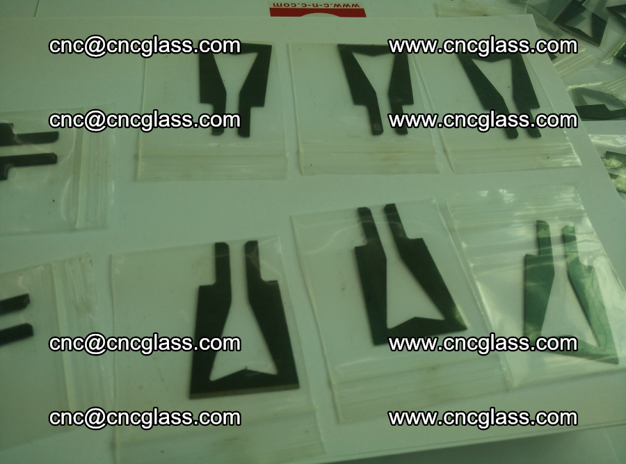 Blades for Thermal cutter trimming laminated glass edges overflowed remains (7)