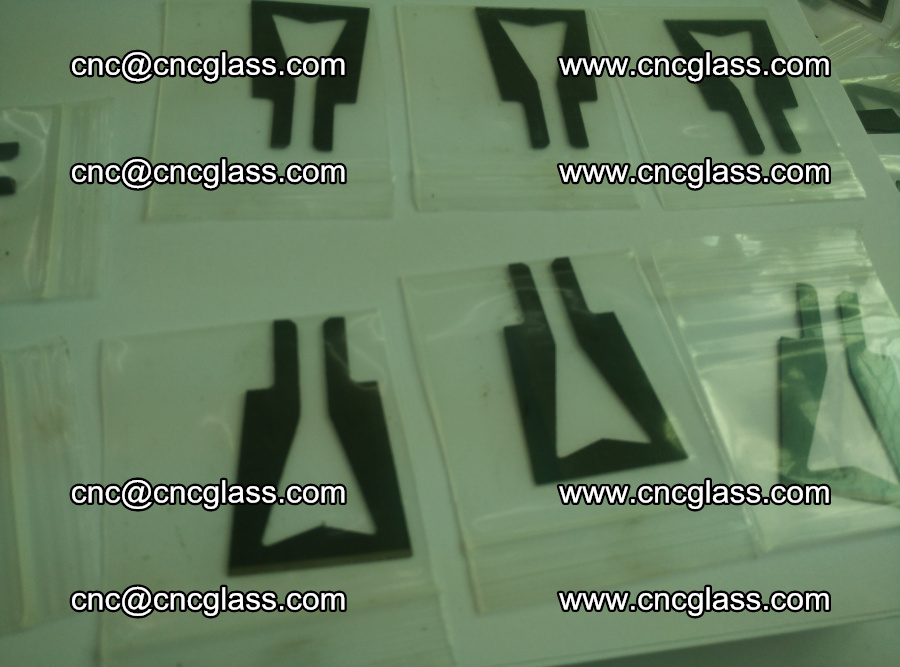 Blades for Thermal cutter trimming laminated glass edges overflowed remains (8)