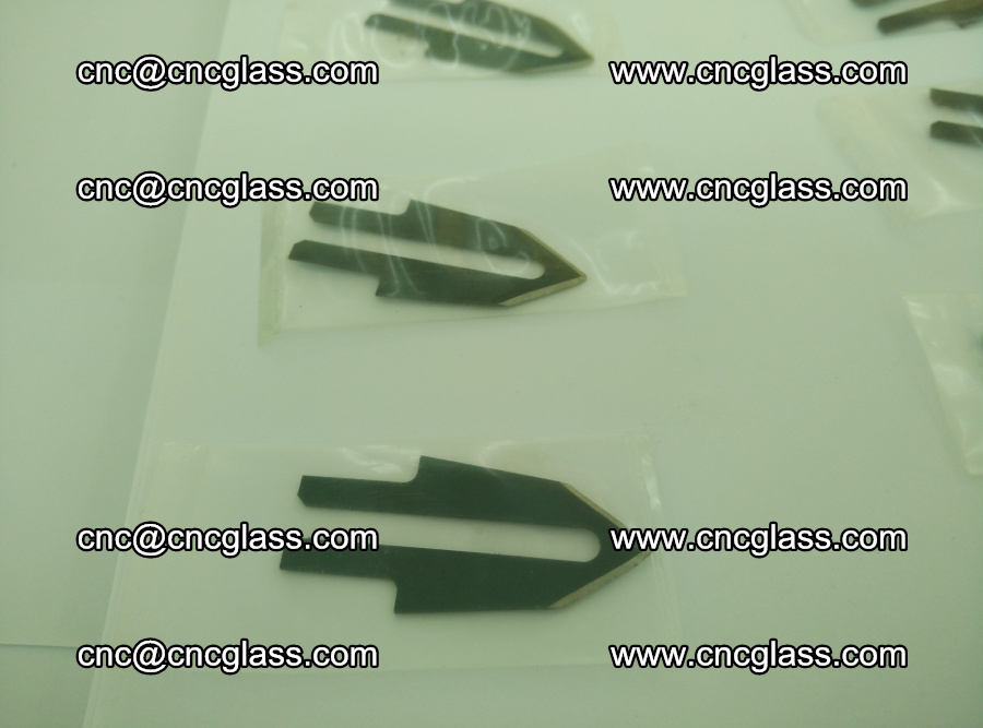 Blades for Thermal cutter trimming laminated glass edges overflowed remains (SGP INTERLAYER) (1)