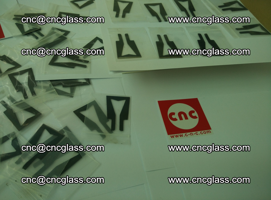 Blades for Thermal cutter trimming laminated glass edges overflowed remains (SGP INTERLAYER) (12)