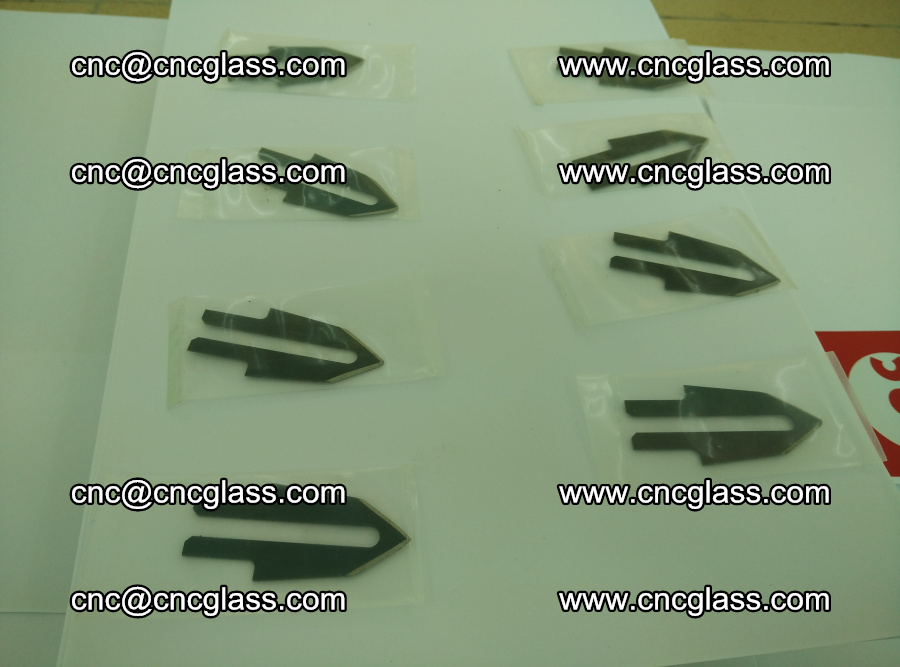 Blades for Thermal cutter trimming laminated glass edges overflowed remains (SGP INTERLAYER) (15)