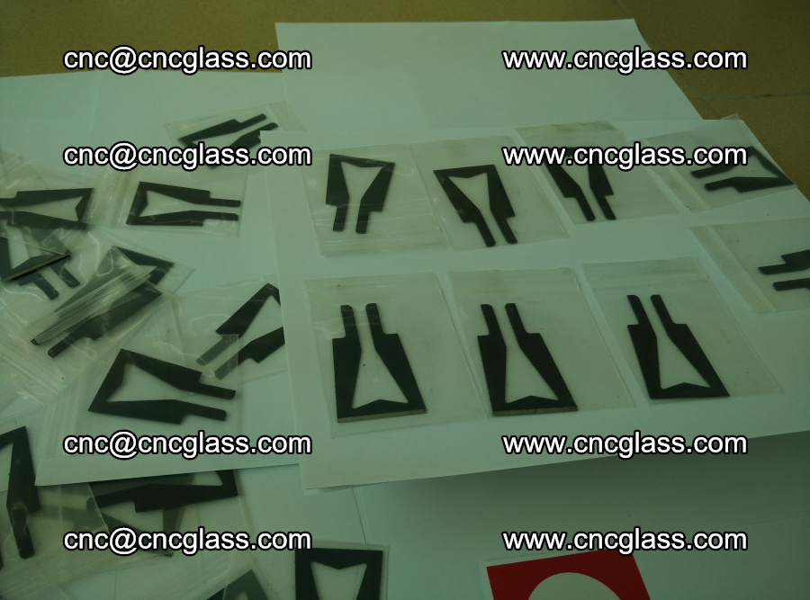 Blades for Thermal cutter trimming laminated glass edges overflowed remains (SGP INTERLAYER) (2)