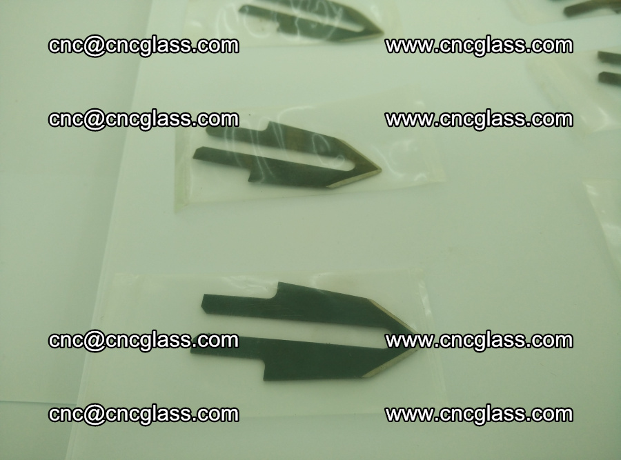 Blades for Thermal cutter trimming laminated glass edges overflowed remains (SGP INTERLAYER) (20)