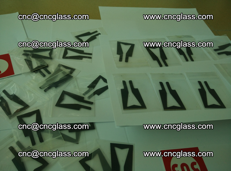 Blades for Thermal cutter trimming laminated glass edges overflowed remains (SGP INTERLAYER) (3)