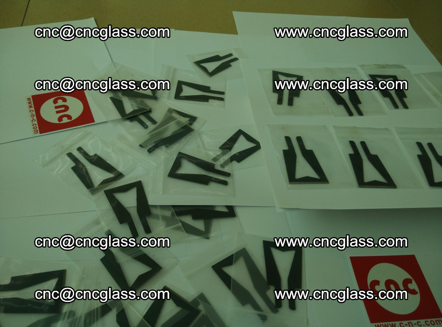 Blades for Thermal cutter trimming laminated glass edges overflowed remains (SGP INTERLAYER) (5)