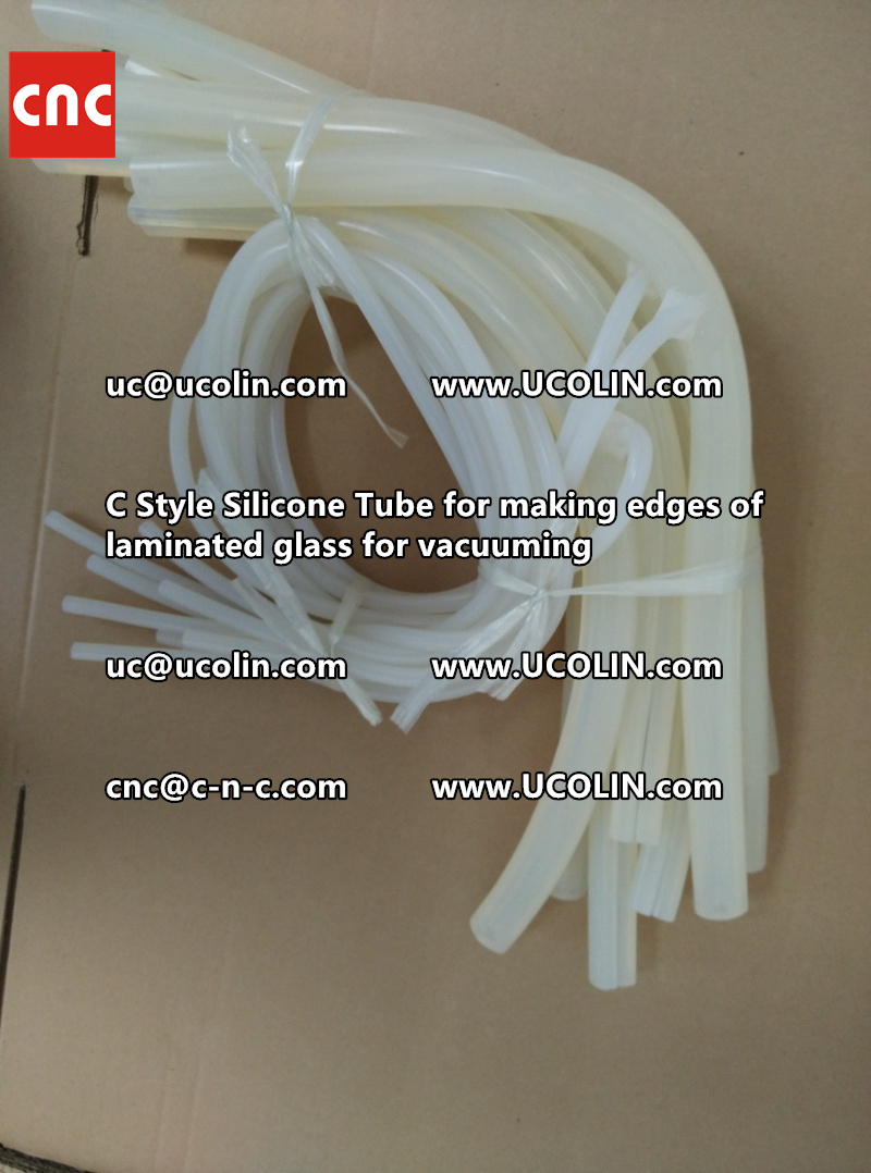 TEMPER BEND LAMINATED GLASS SAFETY GLAZING vacuuming silicone tube (142)