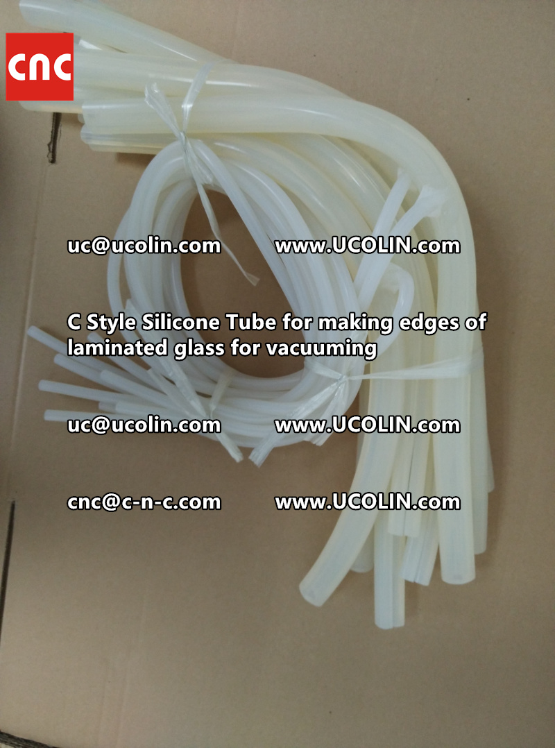 TEMPER BEND LAMINATED GLASS SAFETY GLAZING vacuuming silicone tube (143)
