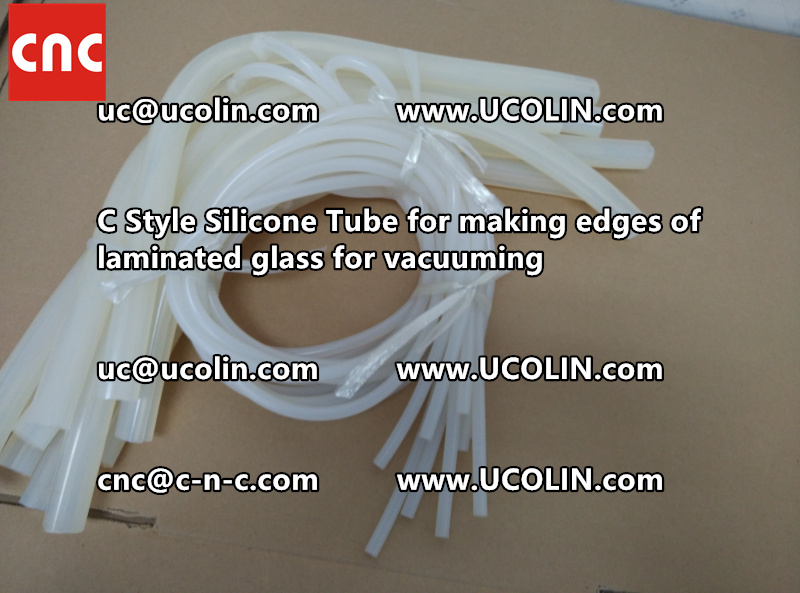 TEMPER BEND LAMINATED GLASS SAFETY GLAZING vacuuming silicone tube (145)