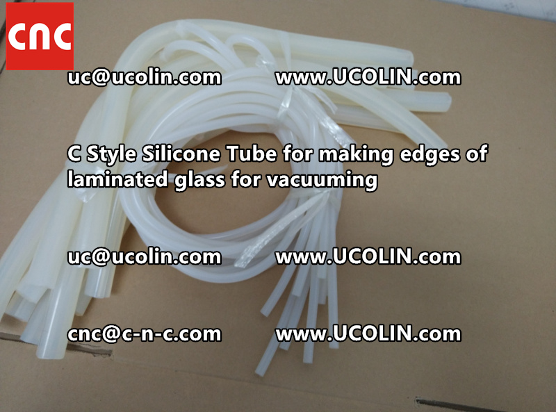 TEMPER BEND LAMINATED GLASS SAFETY GLAZING vacuuming silicone tube (146)