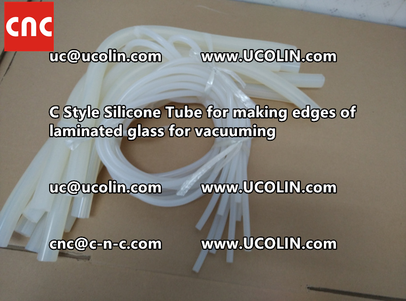 TEMPER BEND LAMINATED GLASS SAFETY GLAZING vacuuming silicone tube (147)