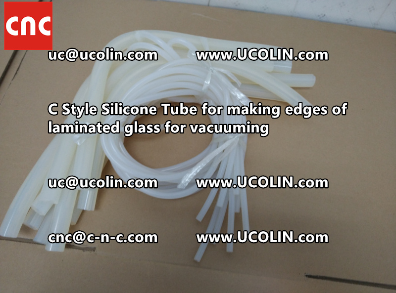TEMPER BEND LAMINATED GLASS SAFETY GLAZING vacuuming silicone tube (148)