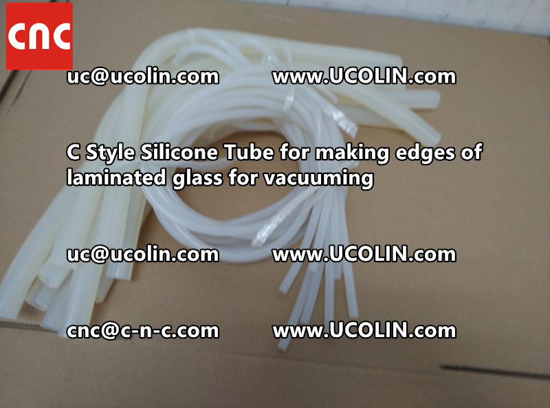 TEMPER BEND LAMINATED GLASS SAFETY GLAZING vacuuming silicone tube (149)