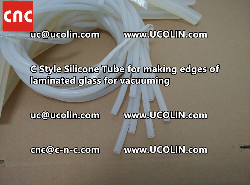 TEMPER BEND LAMINATED GLASS SAFETY GLAZING vacuuming silicone tube (150)