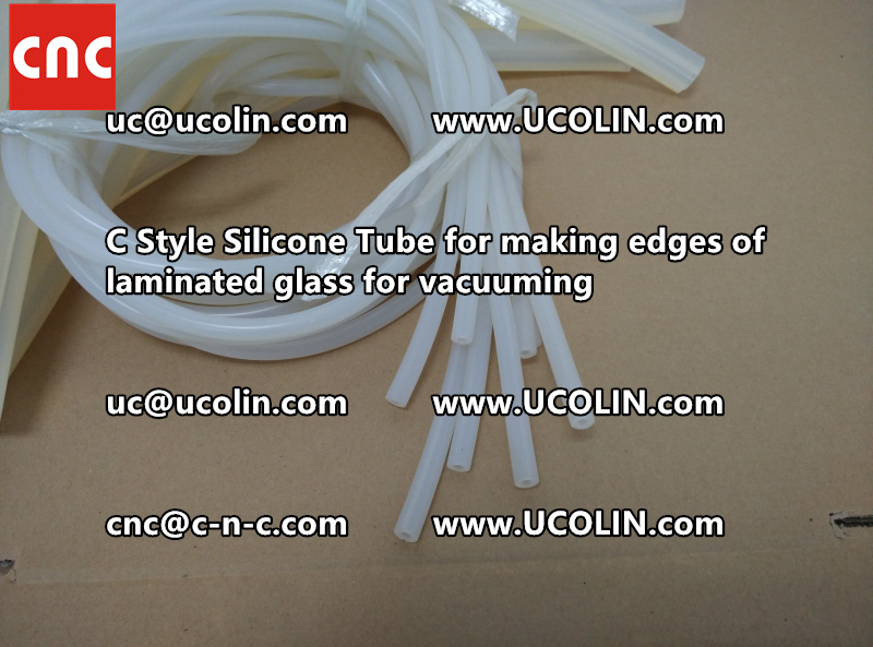 TEMPER BEND LAMINATED GLASS SAFETY GLAZING vacuuming silicone tube (151)