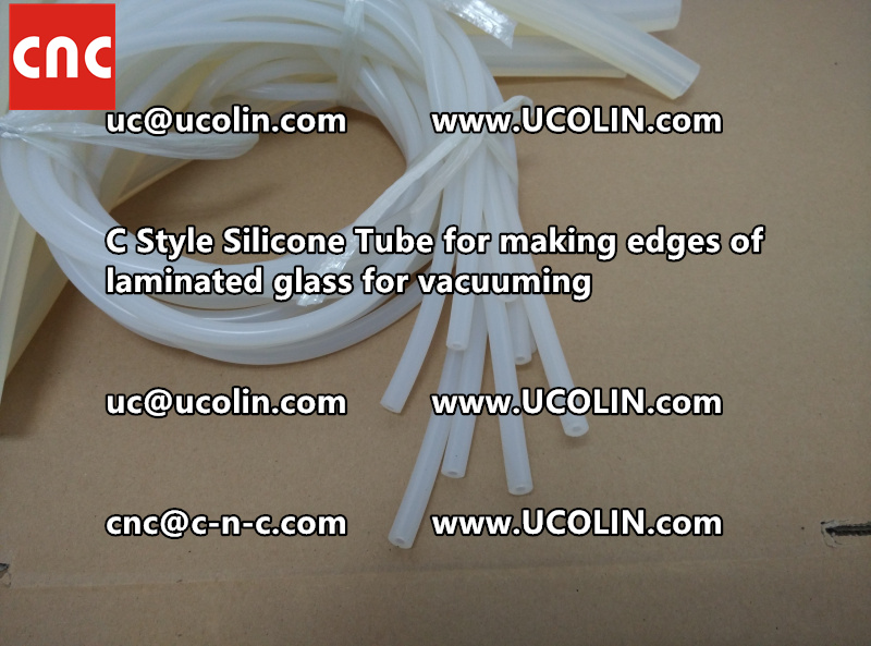 TEMPER BEND LAMINATED GLASS SAFETY GLAZING vacuuming silicone tube (152)