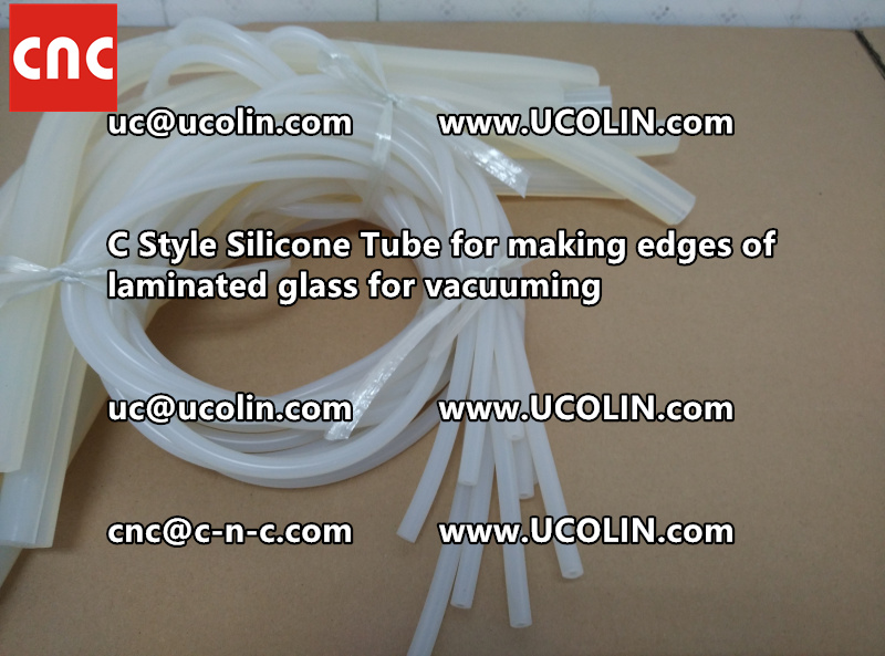 TEMPER BEND LAMINATED GLASS SAFETY GLAZING vacuuming silicone tube (154)