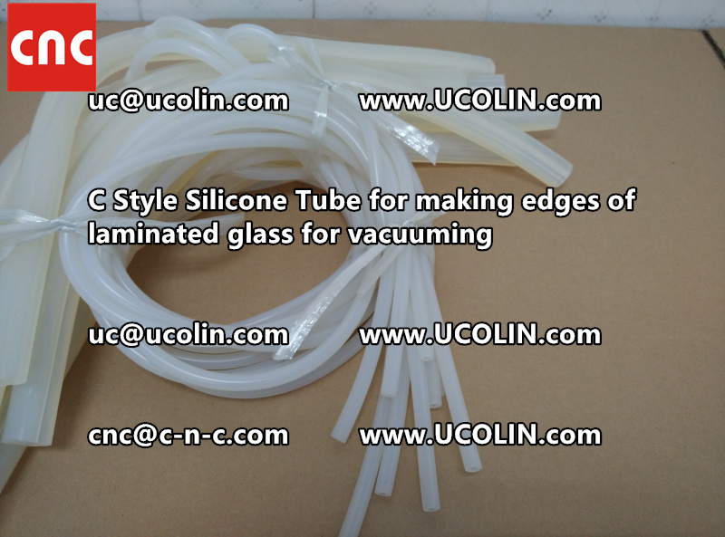TEMPER BEND LAMINATED GLASS SAFETY GLAZING vacuuming silicone tube (155)