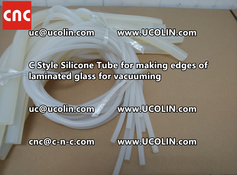 TEMPER BEND LAMINATED GLASS SAFETY GLAZING vacuuming silicone tube (156)